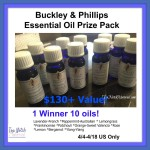 Buckley & Phillips Essential Oils Prize Pack Giveaway