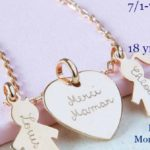 Personalized Family Necklace Giveaway